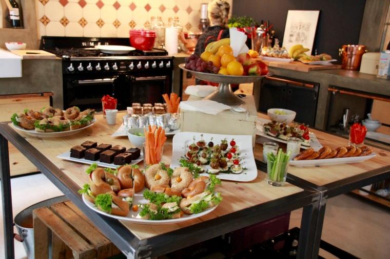 Eltern-Blogger-Café Buffet