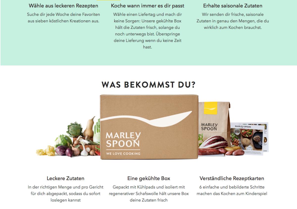 Der große Kochboxen-Vergleich – Hello Fresh, Marley Spoon, das Kochhaus
