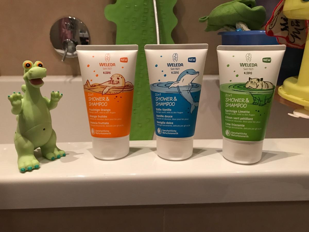 Die neuen Weleda Kids 2in1 Shower & Shampoo im Test #natürlichmeins